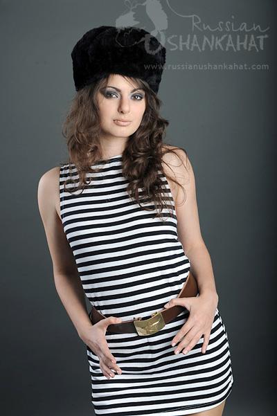 Black Fur Hat Black Fur Hat Faux Fur Russian Ushanka