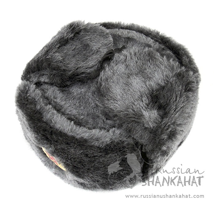 Grey Fur Ushanka