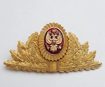 Russian Tax Police Uniform Hat Badge
