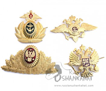 Soviet Russian Military Unifrom Eagle Army NAVY Badge Set