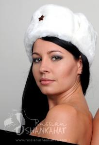 White Fur Hat