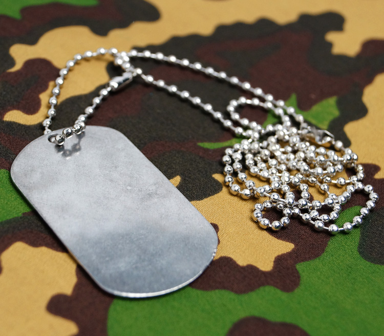 Russian Army Dog Tag communication troops