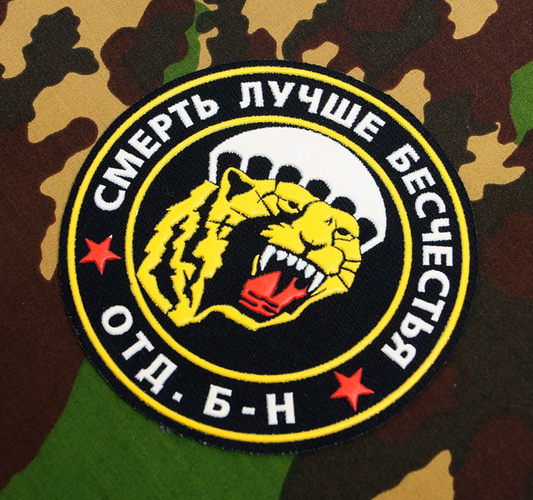 Russian military sleeve patch. Troops VDV