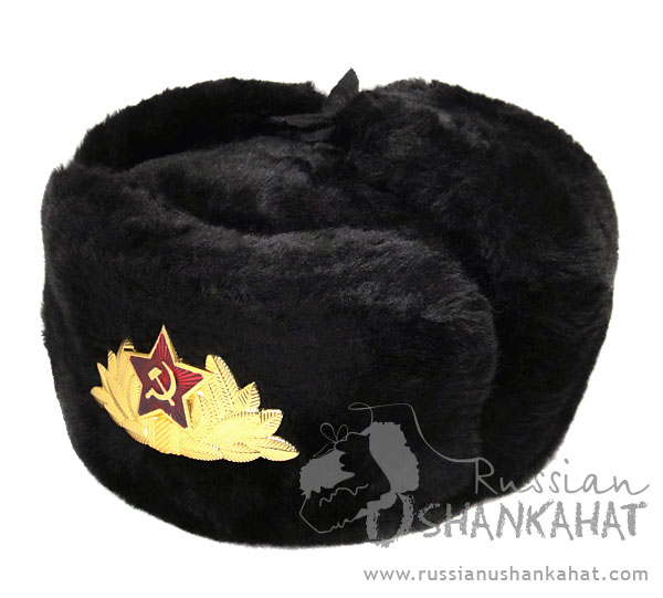 Black Fur Hat