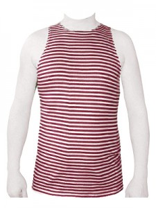 "Russian Army Special Forces (""Spetsnaz"") Uniform Maroon (Red) Striped TELNYASHKA Shirt Tank Top"